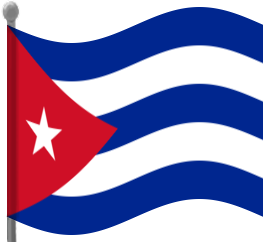 Cuba Flag Clipart.