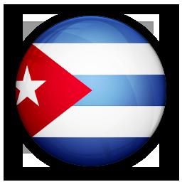 Cuba, flag, of icon.