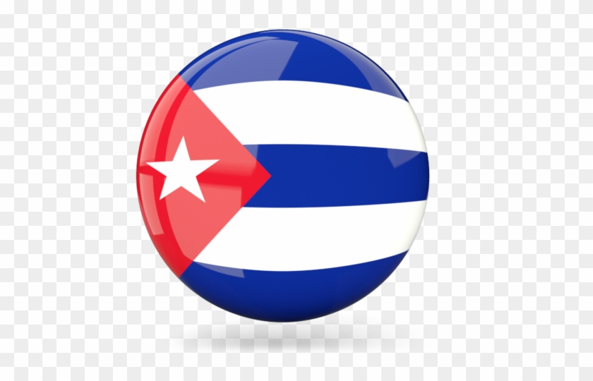 Illustration Of Flag Of Cuba.