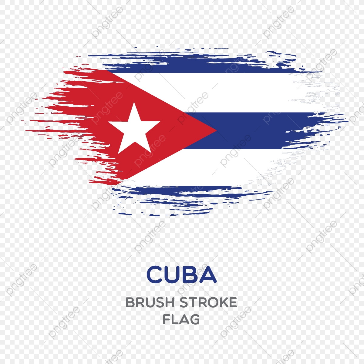 Flag Of Cuba Picture, Cuba, Flag, Foreign Flag PNG and Vector with.