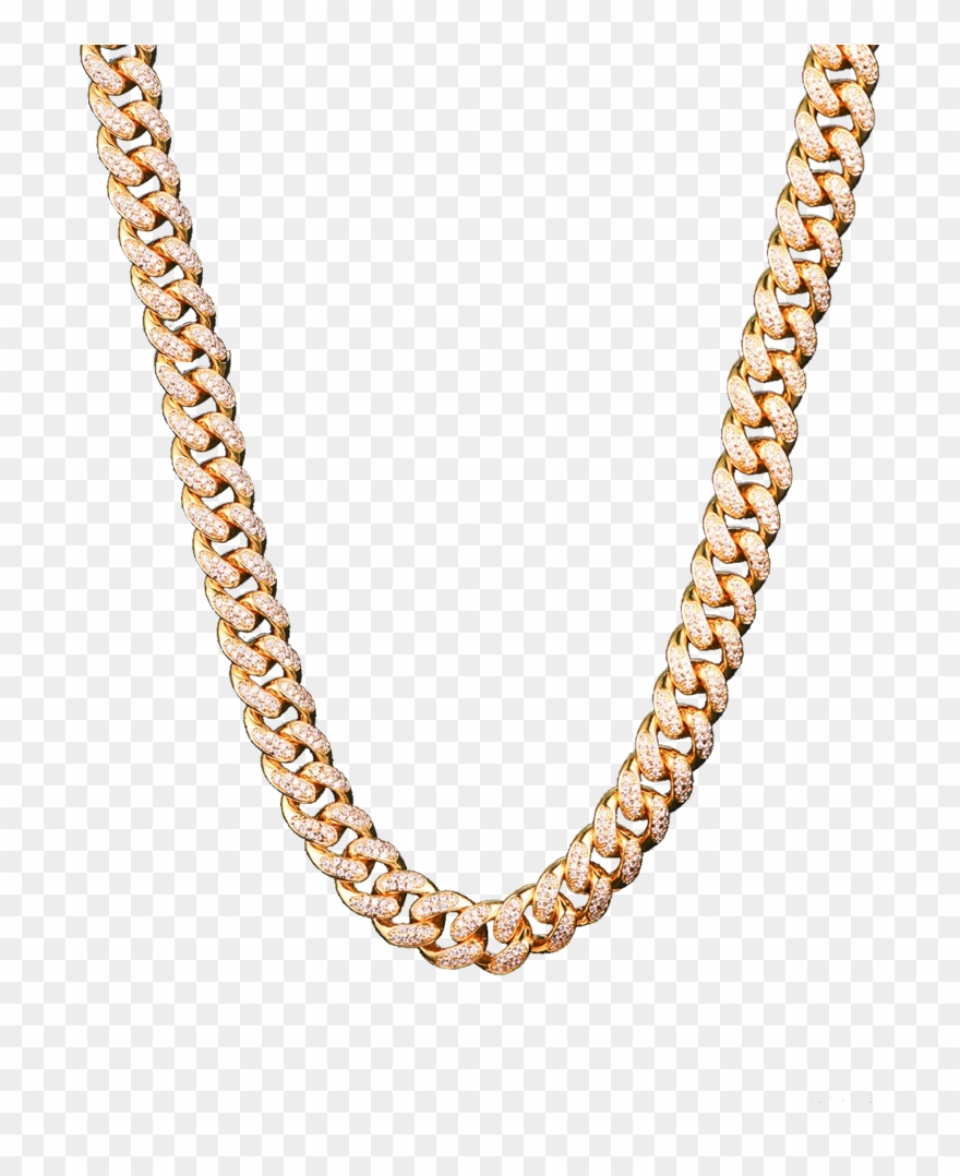 Iced Out Chain Png.