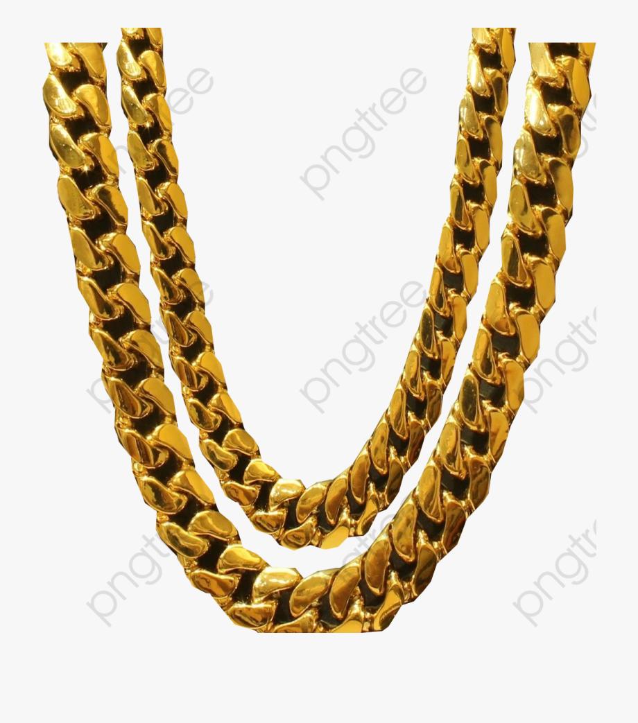 Transparent Necklace Format Image.