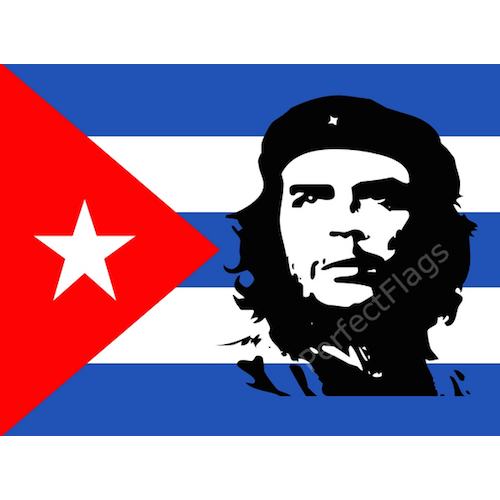 Cuban revolution flag.