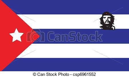 Clip Art of Cuba.