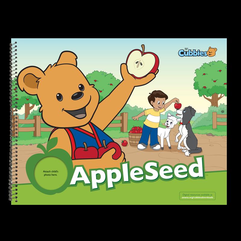 Cubbies: Apple Seed Verses.