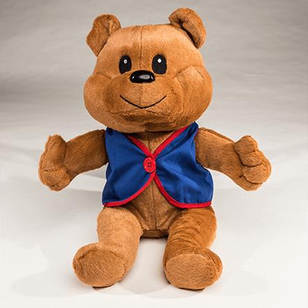 Awana Cubbie Bear Stuffed Toy.