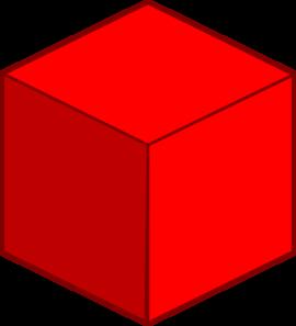 Cube Clip Art.
