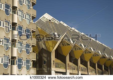 Stock Photo of experimental houses k1000324.