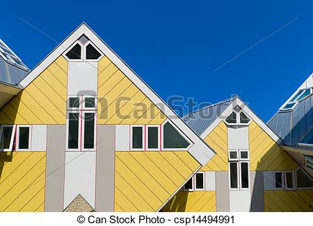 Stock Photographs of modern architecture in Rotterdam.