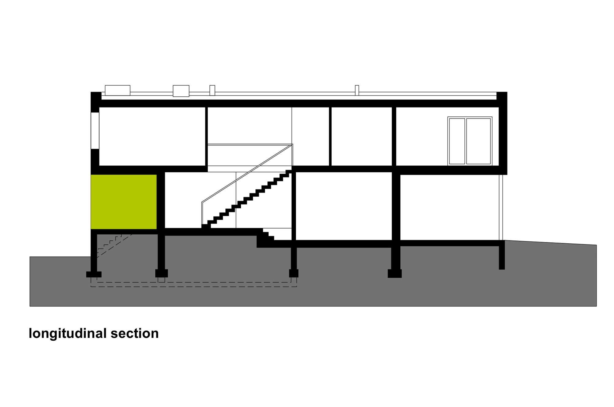 Gallery of Black Cube House / KameleonLab.