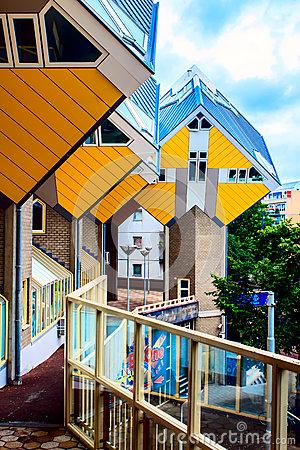 Blaak, Rotterdam, Netherlands. Editorial Photography.