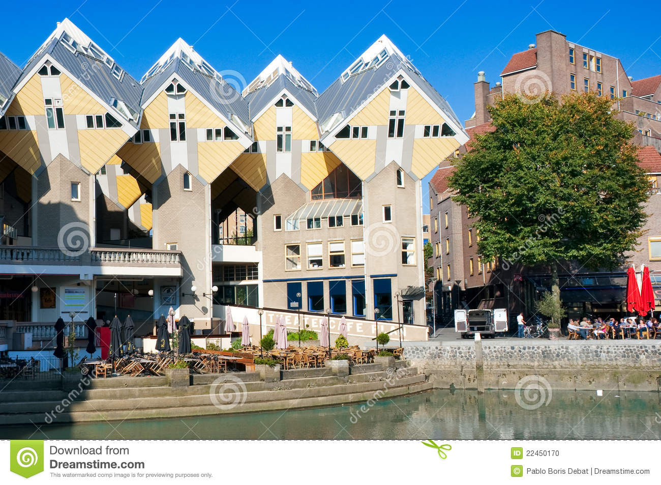 Cubic Houses Rotterdam Stock Photos, Images, & Pictures.