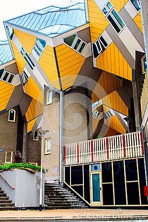 Blaak, Rotterdam, Netherlands. Editorial Stock Photo.