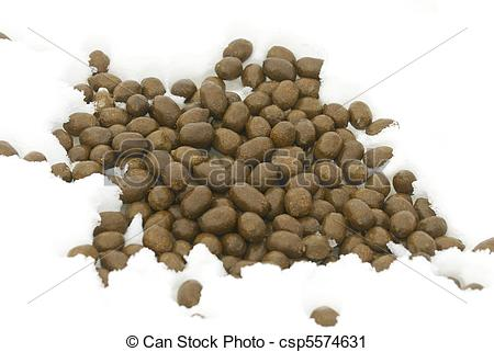 Stock Photography of American Moose scat in deep snow csp5574631.