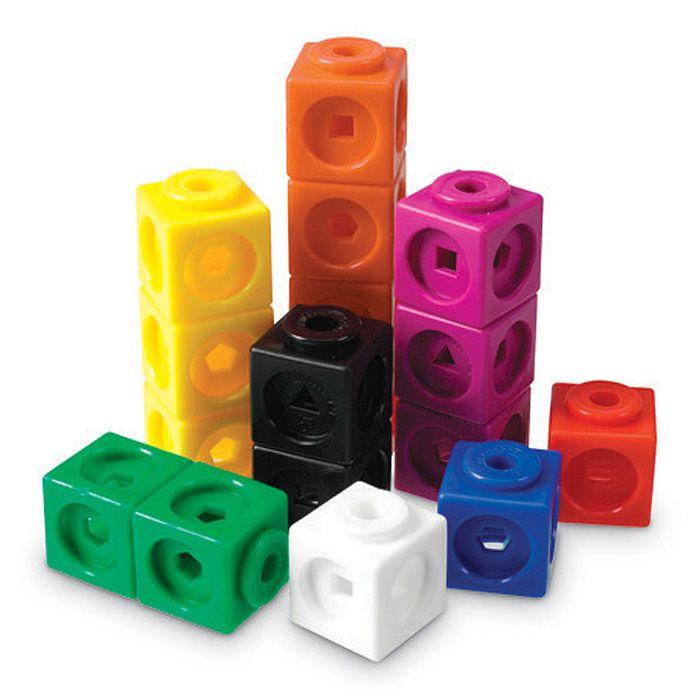 Snap cubes clip art.