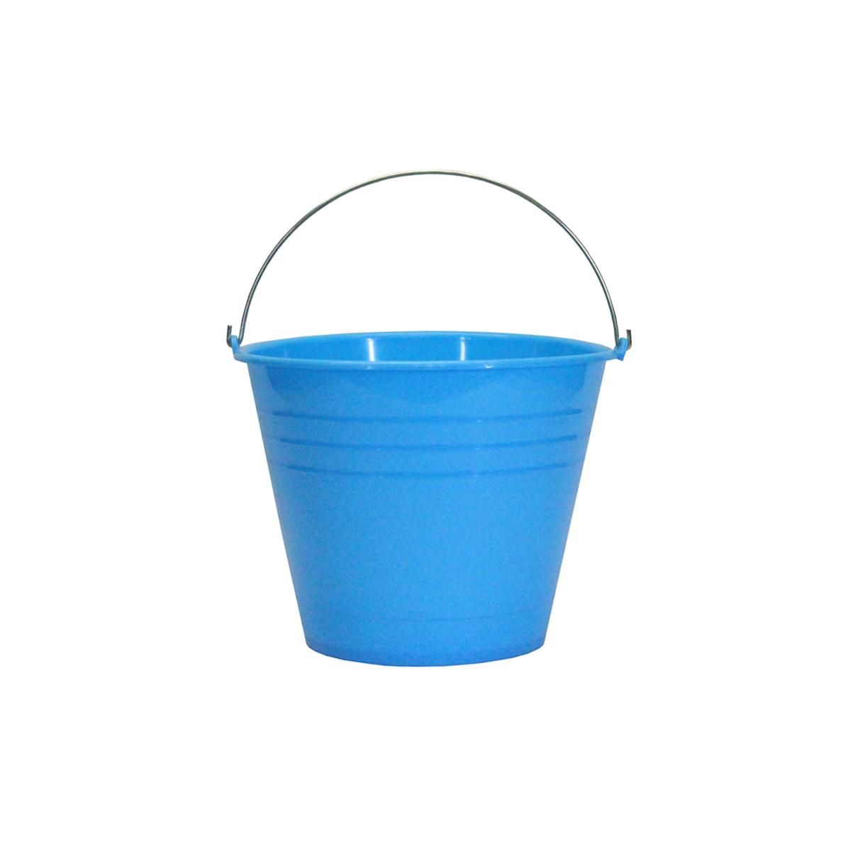 Cubeta de plástico colores surtidos #18 de 17 litros.