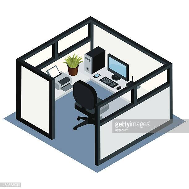 60 Top Cubicle Stock Illustrations, Clip art, Cartoons, & Icons.