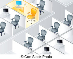 Cubicle Clipart and Stock Illustrations. 659 Cubicle vector EPS.