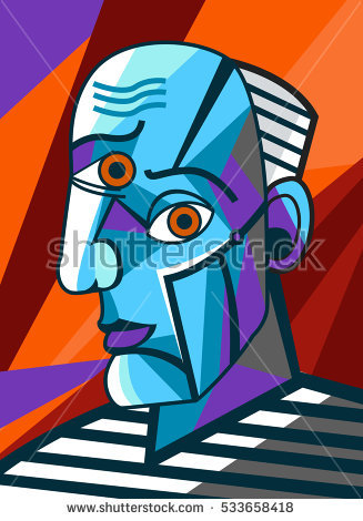 Cubist Stock Images, Royalty.