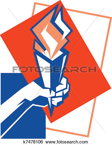 Clip Art of Freedom of Cubism k7478106.