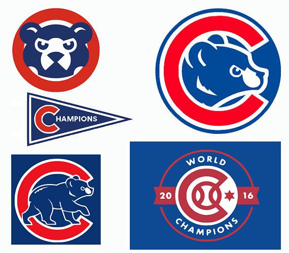 Chicago Cubs SVG, Chicago Baseball , Chicago Baseball DXF, Baseball.