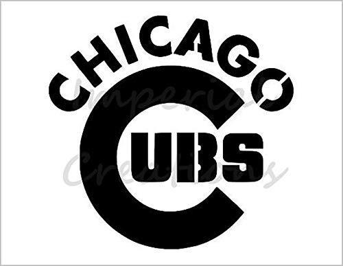 CHICAGO CUBS Baseball Team 8.5\