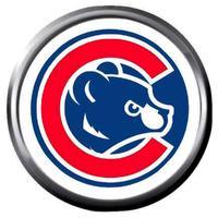 Bear Cub In C Logo MLB Baseball Chicago Cubs 18MM.