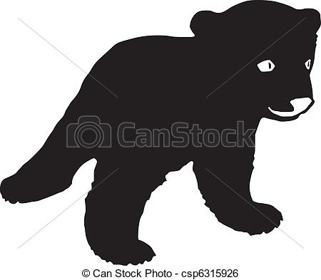 Cubs Silhouette Clipart Clipground