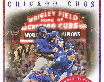 Chicago cubs art.
