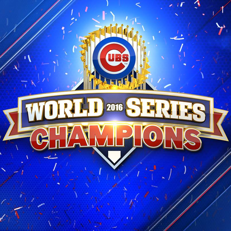 Chicago Cubs 2016 world champions.