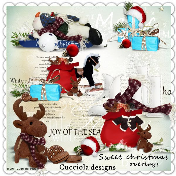 Kit Sweet Christmas by Cucciola Designs :: persiancat.
