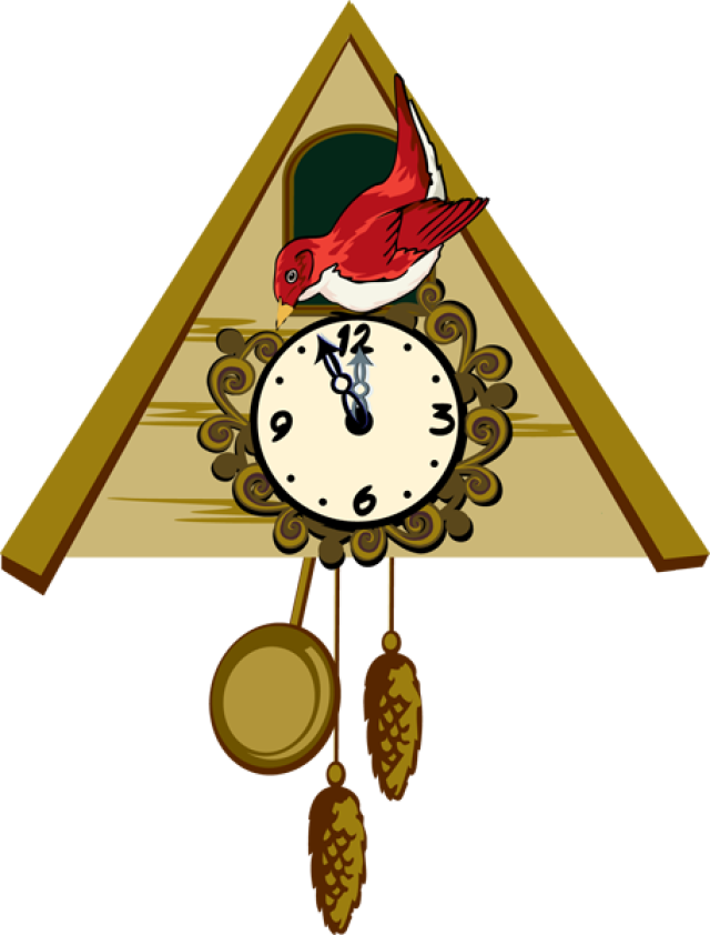 cuckoo clock clip art free - photo #3