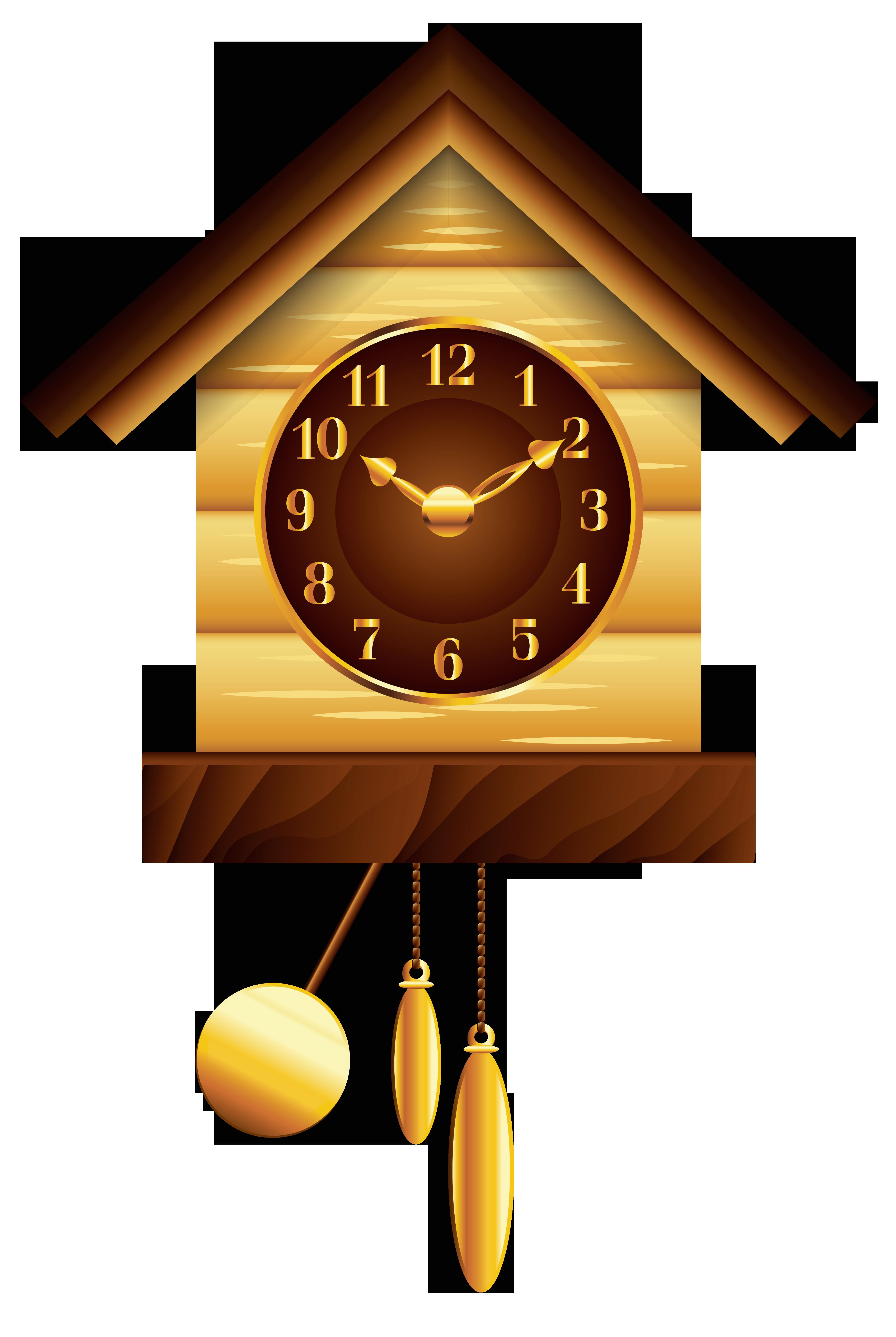 Cuckoo Clock PNG Clip Art.