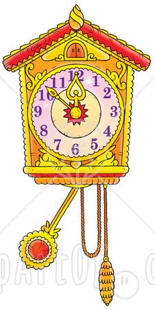 Cuckoo Clock Clipart.
