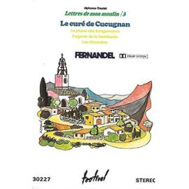 Fernandel K7 Audio Lettres De Mon Moulin (3) Le Curé De Cucugnan.