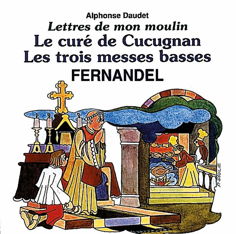 Fernandel Le cure de cucugnan (Vinyl Records, LP, CD) on CDandLP.