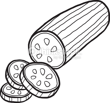 Cucumber clipart black and white 2 » Clipart Station.