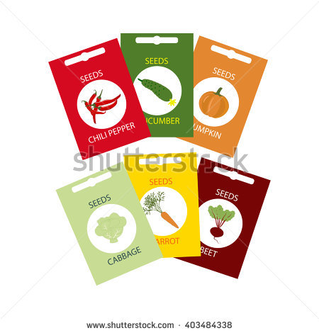 Seed Packet Stock Photos, Royalty.