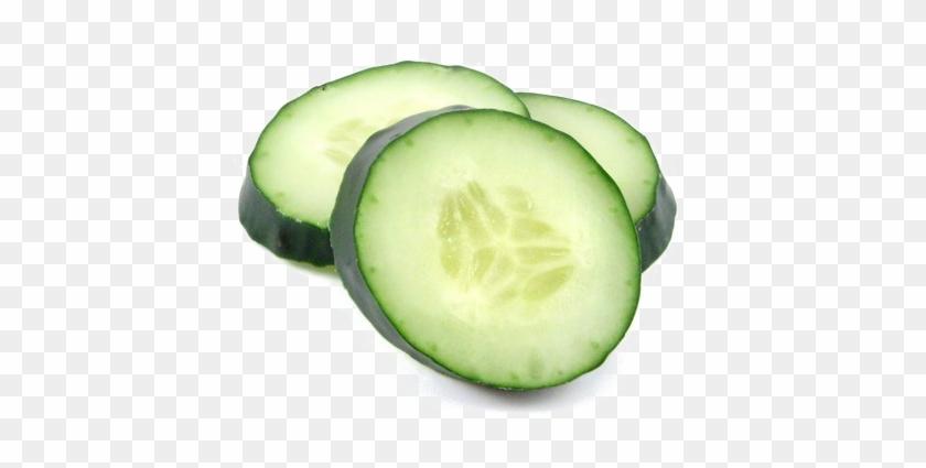 Sliced Cucumber Png High.