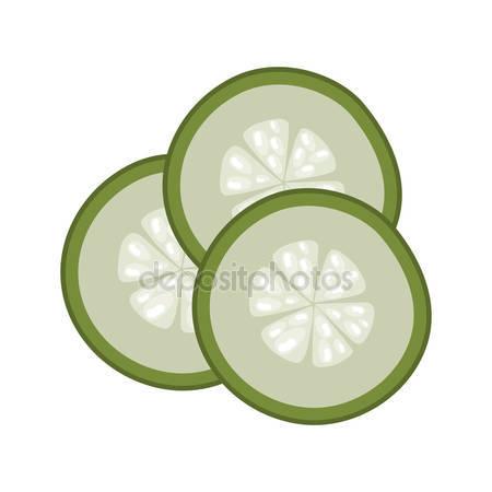 Cucumber slice Stock Vectors, Royalty Free Cucumber slice.