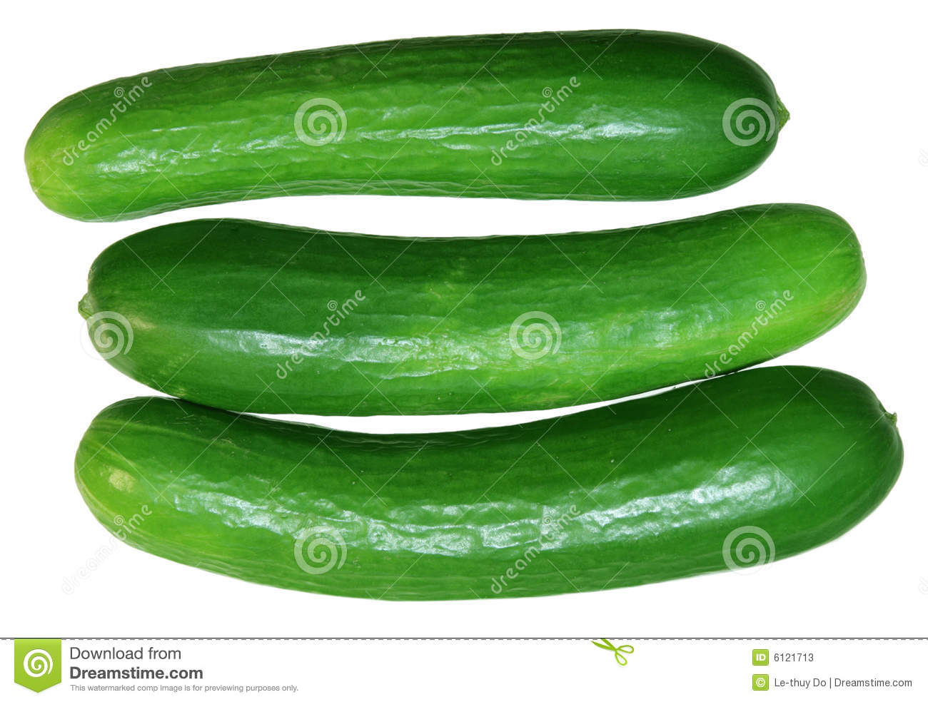 Persian Cucumbers Stock Photos.