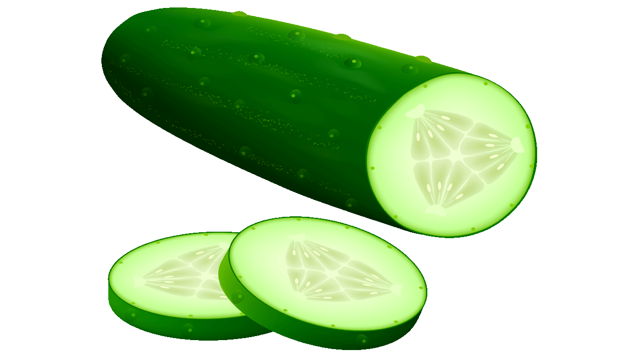 14 Cool Cucumber Free Vegetables Clipart.