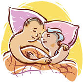 Cuddle clipart.