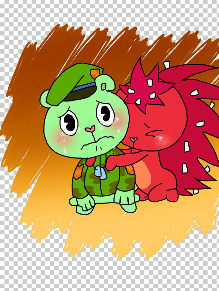 Flippy Lumpy Cuddles Art Without A Hitch PNG, Clipart, Art.