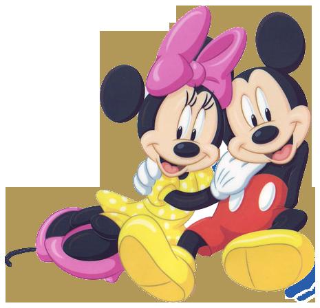 Mickey & Minnie Clipart.