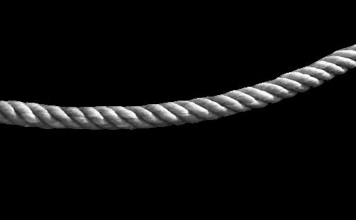 Cuerda PNG transparente.
