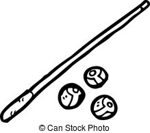 Pool cue Clipart and Stock Illustrations. 1,987 Pool cue vector.