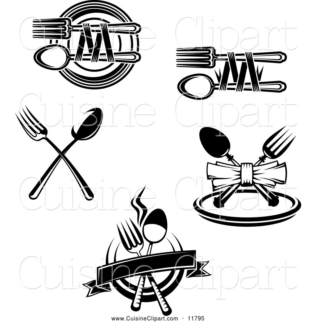 Fine Cuisine Clipart.