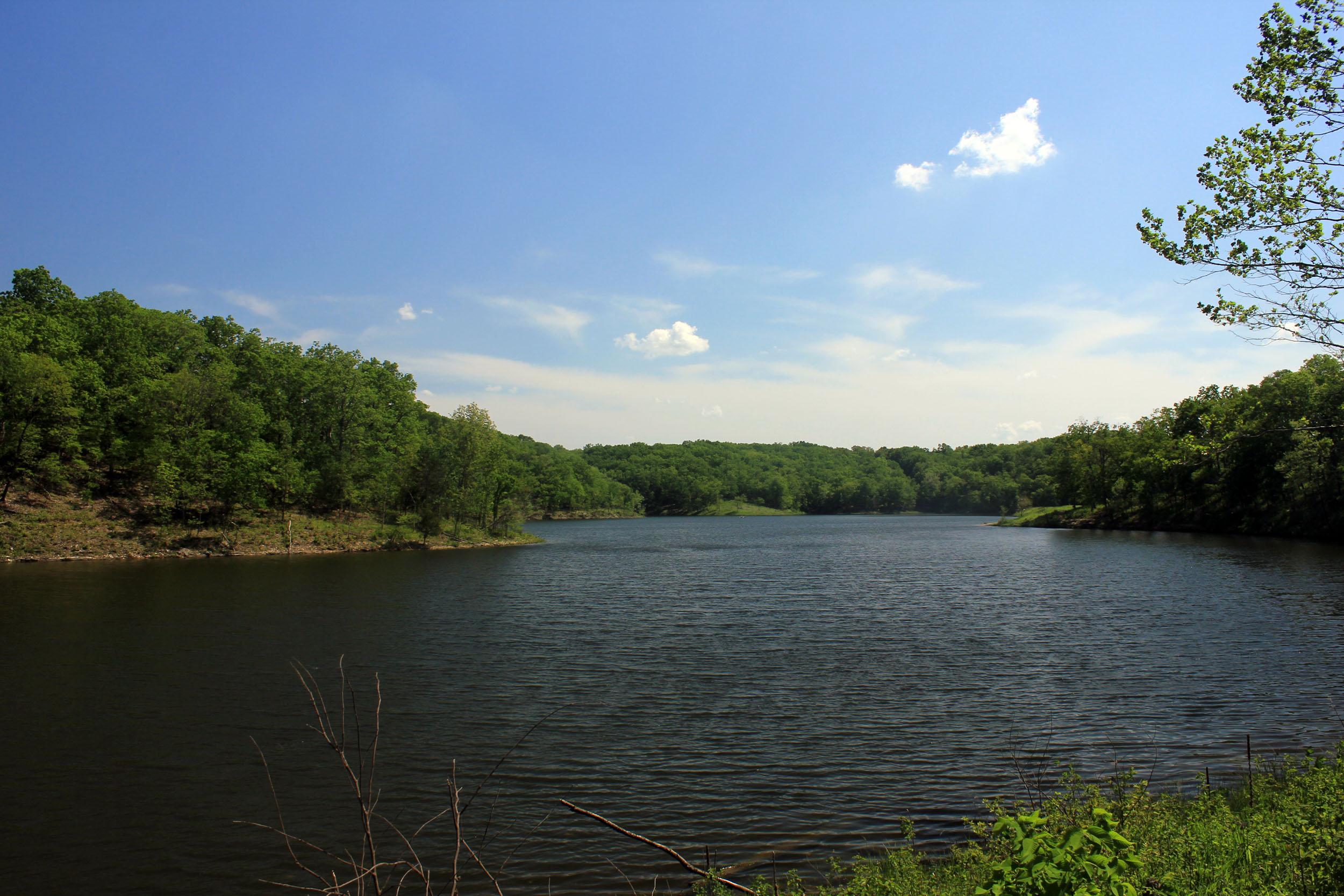 Lake Landscape.