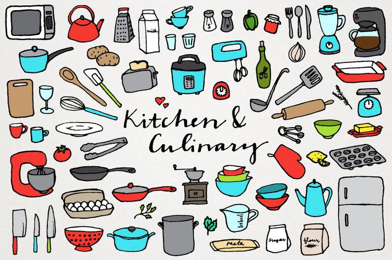 Kitchen and Culinary Clipart.